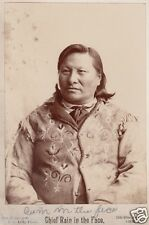 Sioux 'Chief Rain In The Face' Signed Photograph - American Indian - reprint