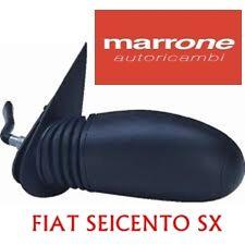 SPECCHIO SPECCHIETTO RETROVISORE SINISTRO SX C/LEVA FIAT SEICENTO 600 1998>82980