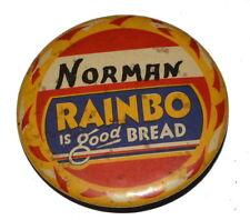 "Vtg RAINBO THIN SLICED Bread Wrapper Wax Paper ~18x24/"" 1.5 lb Tucson AZ 1961 NOS"
