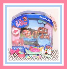 ❤️NEW Littlest Pet Shop LPS #1010 Postcard Tattoo Butterfly Dachshund Dog NIB❤️