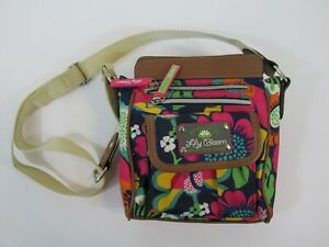 Lily Bloom Crossbody Small Purse Floral Handbag Recycled Polyester Adjustable