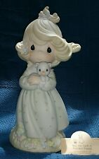 Precious Moments 9 Inch. You Are Such A Purr-fect Friend 526010 - Nib - Signed.