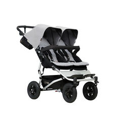 Poussette double Mountain Buggy Duet v3 Silver - 2017