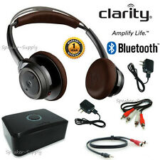 Clarity TV Listener TL100 Bluetooth Amplified Listening System Wireless Headset