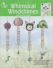 Whimsical Windchimes Crochet Instruction Patterns Annies Attic Stacey Graham NEW