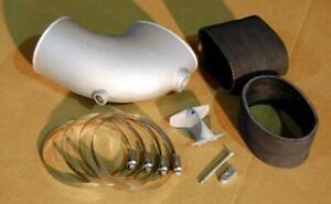 LT1 LT4 Aluminum Intake Elbow with Throttle Body Splitter Kit  NITROUS PORT -an