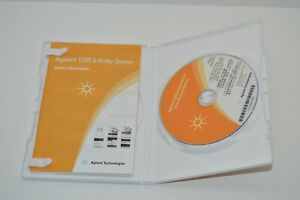 Agilent 1200 Infinity Series LC hardware DVD USER Documentation G4800-64500 CD
