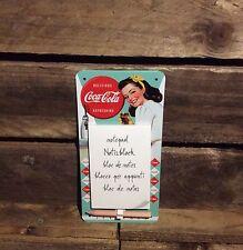 COCA COLA Blocco Note Magnetico ufficialmente licenza prodotto. COKE, Diet Coke. 50,s