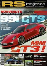 RS MAGAZINE 161 911 ST 964 C2 911 3.2 CAB 996 TARGA 997 CARRERA S PROTOS PORSCHE