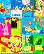 CARD FERRERO 1998 - 99 GARFIELD SIMPSON MOSTRO CARD - LOTTO 33 PEZZI