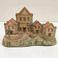 """David Winter """"AIMS HOUSE"""" Building Handcrafted 1984 Signed Hines Studios England"""
