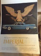 Original 1957 Chrysler Imperial Magazine Ad  - The Car That Captured a Nation...