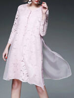 Pink Lace Trench Coat, NWT, 26607
