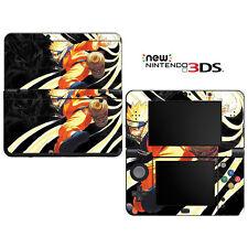 vinyl skin decal für new nintendo 3ds-naruto shippuden 3