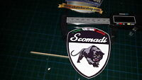 Scomadi Shield Gel badge  Standard Colours
