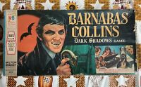 Vintage BARNABAS COLLINS Dark Shadows Board Game 1969 Milton Bradley