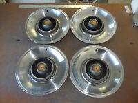 """1965 65 Chrysler Imperial Hubcap Rim Wheel Cover Hub Cap 15"""" OEM USED P12 570 4"""