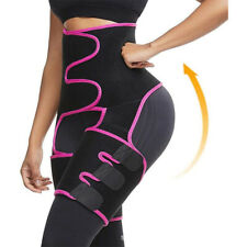 3 In 1 Waist Trainer Hip Enhancer Thigh Trimmer Compression Belt Fitness Workout