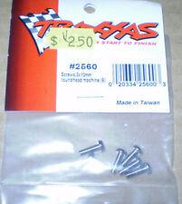 Traxxas 2560 Screws 3x10mm roundhead machine (6)New Nip