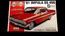 Model Kit 1961 Chevrolet Impala SS 409 Lindberg 1:25