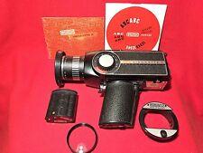 Eumig Viennette 8 Zoom reflex Kamera mit Beienanleitung und Zubehör