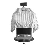 WAHL PINSTRIPE BARBERS/SALON CUTTING CAPE/GOWN *SEALED* *NEW*