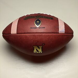 Navy Midshipmen Game Ball Big Game USA NCAA Football