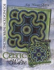 Judy Niemeyer Celtic Wave Foundation Paper Pieced Quilt Pattern