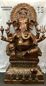 Ganesha Statue Large Ganpati Lord Ganesha Idol Figurine Home Decor Showpiece