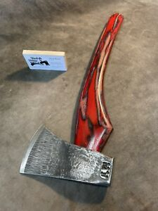 Custom Council Tools Flying Fox Throwing axe hatchet JESSE REED curved handle