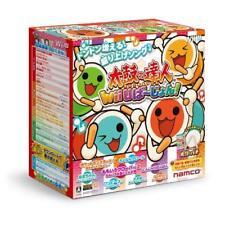 Used Wii U Taiko no Tatsujin Wii U - Shin Taiko and Bee Bundle Set Japan Import