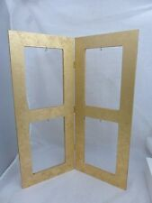 Tripar International Wooden Jewelry / Ornament Display Gold Picture Frame style