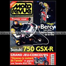 MOTO REVUE N°3208 SUZUKI GSXR 750 HONDA XR 400 YAMAHA 850 TDM TRITON SX BERCY 95
