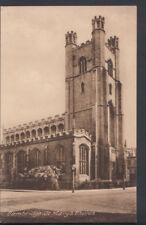 Cambridgeshire Postcard - Cambridge, St Mary's Church    RS7837