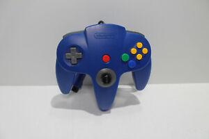 N64 Controller Blue Nintendo 64 OEM Tight Stick 8/10 REFURBISHED!