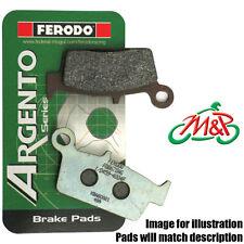 Aprilia RS 50 1999 Ferodo Organic Rear Disc Brake Pads