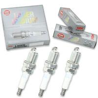 3 pc NGK Laser Iridium Spark Plugs for 2014-2020 Mitsubishi Mirage 1.2L L3 yn