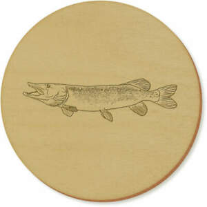 'Pike Fish' Coaster Sets / Placemats (CR029492)