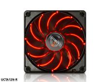 ENERMAX 12 Cm Case Fan PC LED rojo de tecnología de rodamiento Twister