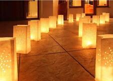 10Pcs Light Paper Lantern Candle Bag For Christmas Home Decoration Xmas B