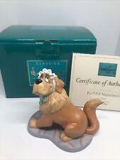 "Wdcc ""Faithful Nursemaid"" Nana Disney's Peter Pan in Box w/ Coa"