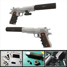 1/1 Scale Silverballer 45 ACP Pistol Gun 3D Paper Model Puzzle Kit Cosplay DIY