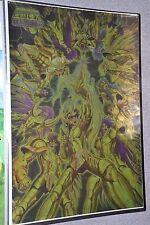 Saint Seiya - Hades Chapter Inferno - 12 Golds Saints Metallic Poster - RARE