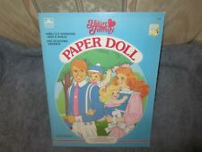 uncut  the heart family paper dolls