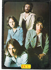 TEN CC 1975 UK Tour Programme Book with guests FANCY