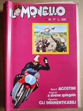 IL MONELLO n°17 1972 Cristall - Giacomo Agostini + Inserto A SIRENE + fig [G391]