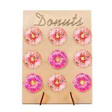 Donut Doughnut Wall Stand Party Wedding Favour Birthday Sweets Candy Cart New UK