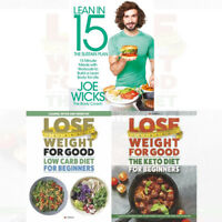 Joe Wicks Sustain Plan Lean in 15 Lean for Life Collection 3 Books Set NEW