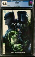 Batman #60 CGC 9.8 Francesco Mattina Variant Cover!