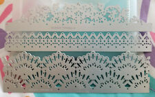 """Delicate Lace Edgelits Dies"" Stampin' Up! - Set of 3 - New!"